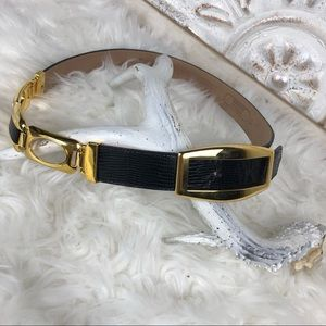 Accessories - leather belt exclusively for Scarboroughs Medium